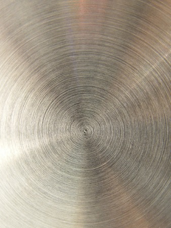 textured steel gray background with rings Stock Photo - 1447660