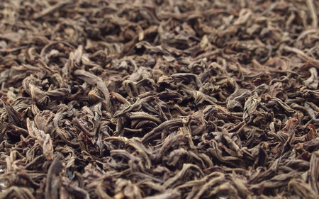 black textured tea. focus in center only. Stock Photo - 1518165