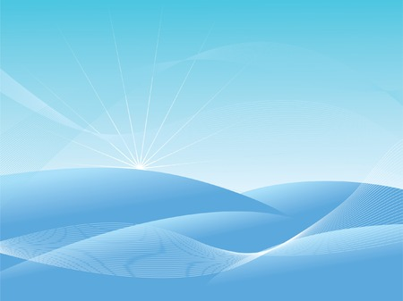 voluptuous: Abstract winter background. Vector illustration.