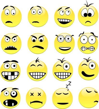 smileys: Smileys contains fill only. All curves are discoloured.