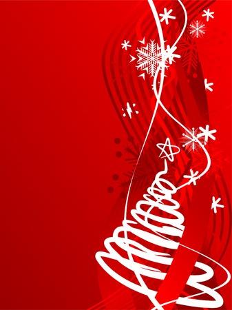 Beautiful winter background. Vector illustration. Stock Vector - 2151088