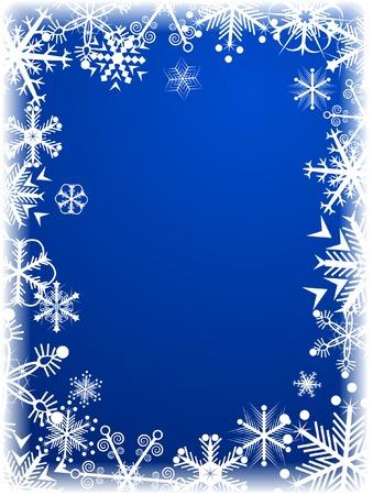 Beautiful winter background. Vector illustration. Stock Vector - 2151095