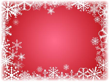 Beautiful winter background. Vector illustration. Stock Vector - 2151096