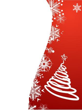 Beautiful winter background. Vector illustration. Stock Vector - 2159640