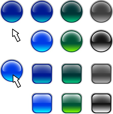 Set of icons. Vector illustration. Stock Vector - 2667055