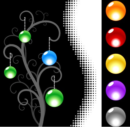 Web design. Black. Vector illustration.  Stock Vector - 2903235