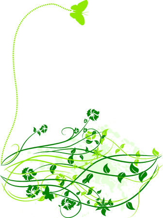 Spring floral background. Stock Vector - 3229566