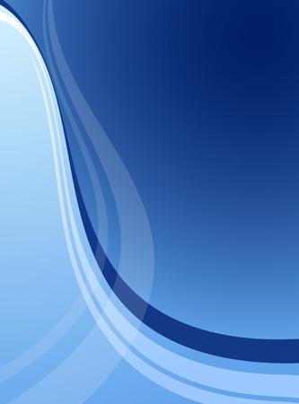 Blue abstract backdrop. Vector illustration.  Illustration