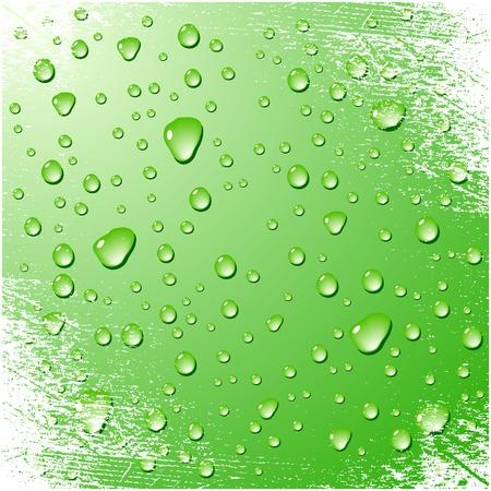 Grunge wet surface. Vector illustration. Stock Vector - 3482091