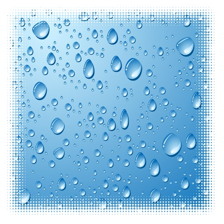 Grunge wet surface. Vector illustration. Stock Vector - 3482089