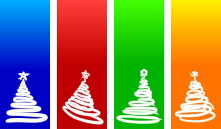 Beautiful Christmas backgrounds. Vector illustration. Vector