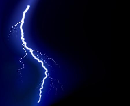 lading: Elektrische toeslag macht. Vector afbeelding.