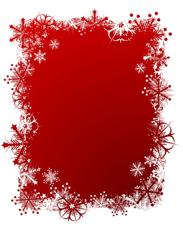 Beautiful Christmas background. Vector illustration. Stock Vector - 3826714