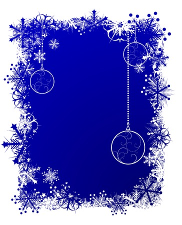 Beautiful Christmas background. Vector illustration. Vector