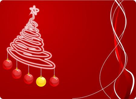 Christmas web design. Vector illustration. Vector