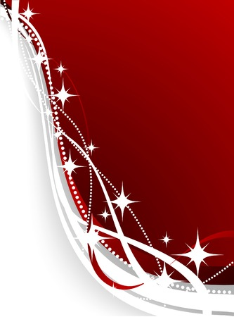Christmas background. Vector. Used mesh. Stock Vector - 3857739