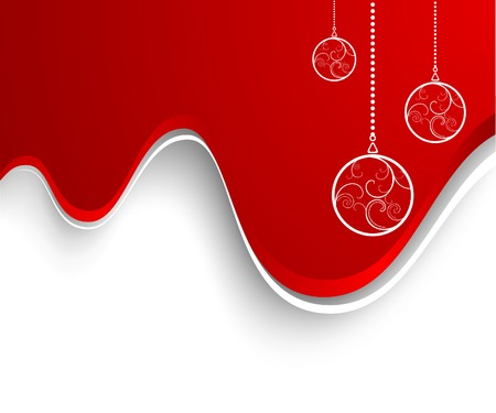 Christmas background. Vector. Used mesh. Stock Vector - 3894846