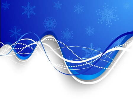Christmas background. Vector. Used mesh. Stock Vector - 3927821