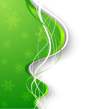 Christmas background. Vector. Used mesh. Stock Vector - 3927822