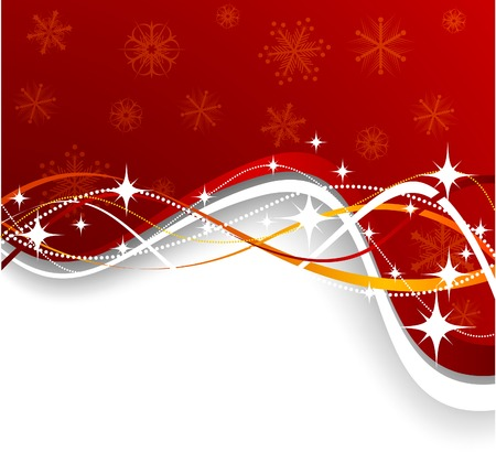 Christmas background. Vector. Used mesh. Stock Vector - 3927823