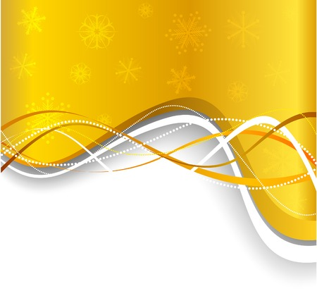 Christmas background. Vector. Used mesh. Stock Vector - 3927824