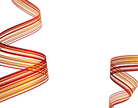 interlace: Striped abstract background. Vector illustration.