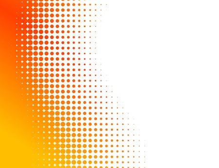 Orange demi-teinte de fond. Vector illustration. Vecteurs