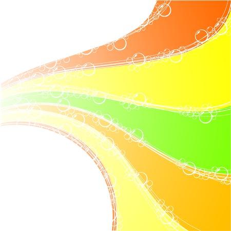Beautiful rainbow background. Vector illustration.  Vector