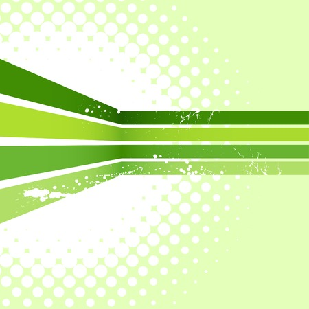 Green half-tone background. Vector illustration. Vector