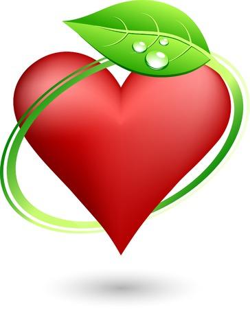 Save love symbol. Vector illustration.  Illustration