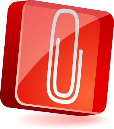 załączyć: Dołącz 3d ikony. Vector illustration.