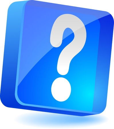 Question 3d icon. Vector illustration.  Stock Vector - 4979570