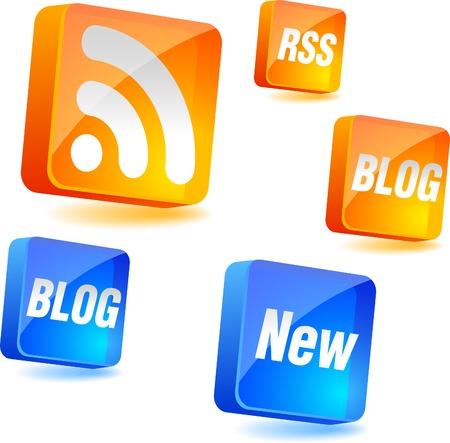 News 3d icon. Vector illustration. Stock Vector - 5016175