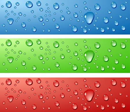 rain background: Color Wet surfaces. Vector illustration.