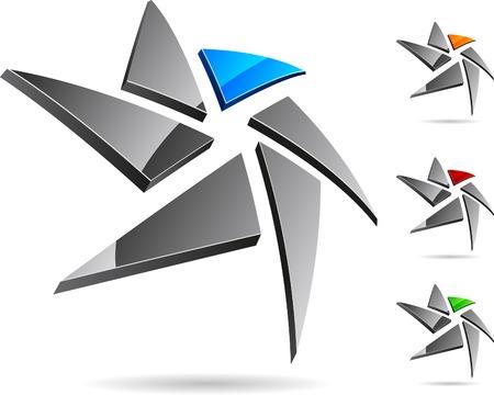 logo vector: Abstract company symbol. Vector illustration.