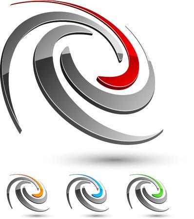 Kort bedrijf symbool. Vector illustratie.
