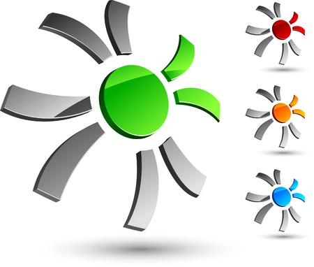 Abstract company symbol. Vector illustration. Stock Vector - 5199970
