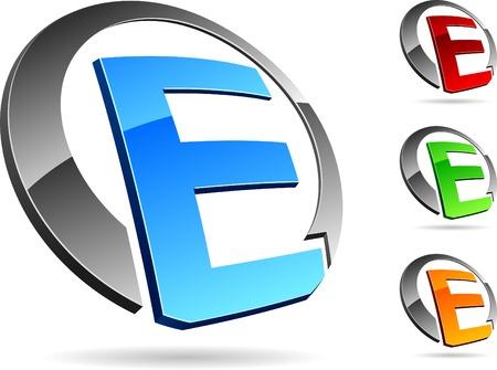 brand logo: Letter