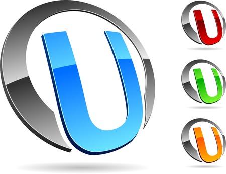 logo informatique: Lettre Illustration