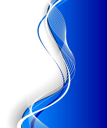 curve: Abstract hi-tech background. Vector illustration.