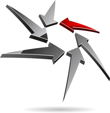 Abstract company symbol. Vector illustration. Stock Vector - 5502021