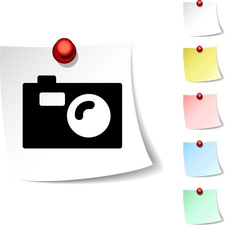 Photo sheet icon. Vector illustration.  Vector