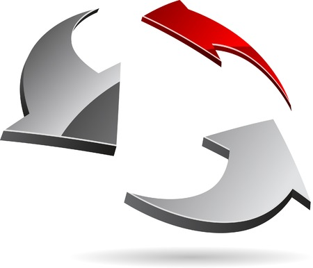 Abstract company symbol. Vector illustration. Stock Vector - 5549576
