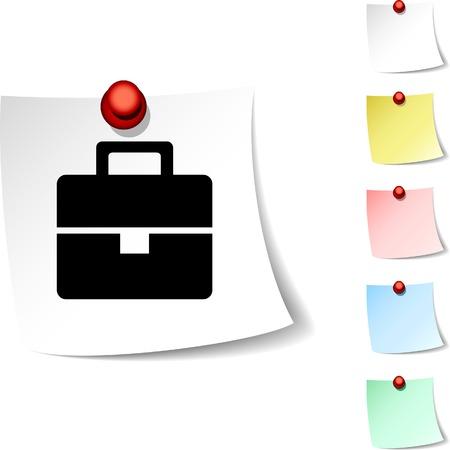 Bag sheet icon. Vector illustration.  Vector