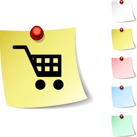 Buy  sheet icon. Vector illustration.  Vector
