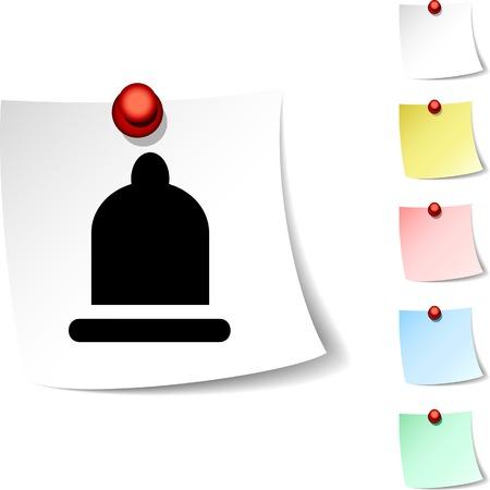 Condom sheet icon. Vector illustration.  Vector