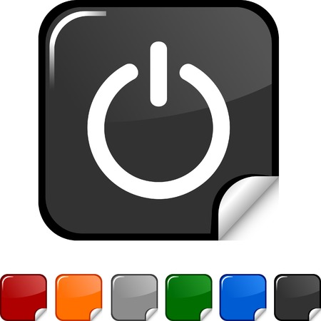 Switch  sticker icon. Vector illustration. Stock Vector - 5613456