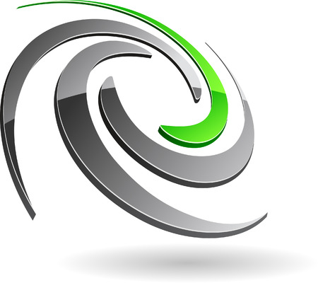Abstract company symbol.  Stock Vector - 5662311