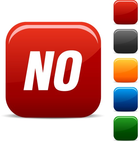 No icon set. Vector illustration.  Stock Vector - 5765266