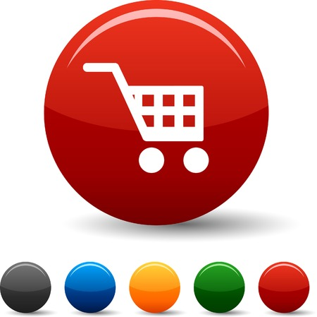Buy icon set. Vector illustration. Stock Vector - 5804392
